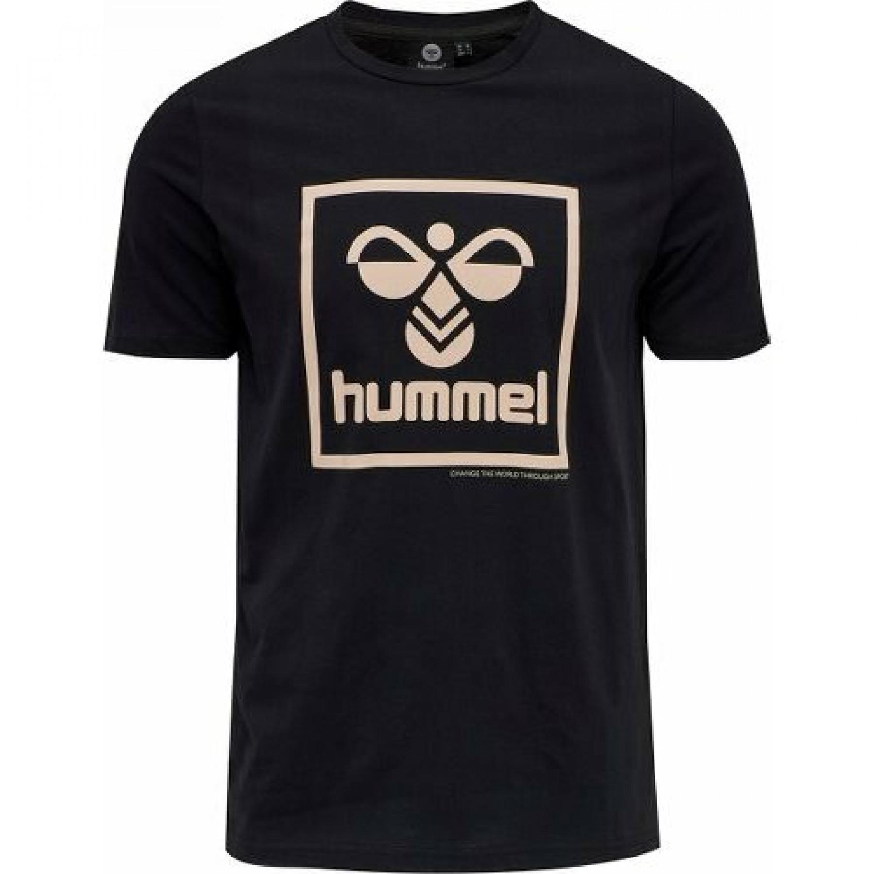 Hummel-T-Shirt mit kurzen Ärmeln