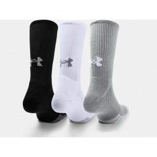 Packung mit 3 Paar Under Armour HeatGear® Crew® Hi-Top Socken
