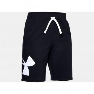 Under Armour Rivale Fleece Logo Jungen-Shorts
