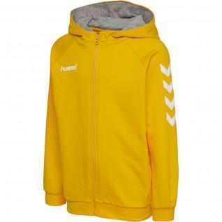 Junior-Kapuzen-Sweatshirt mit Reißverschluss Hummel hmlgo Baumwolle