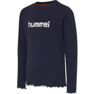 T-Shirt langärmeliges Kind Hummel hmlayaka
