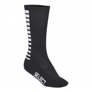 Ausgewählte sportlich gestreifte hohe Socken