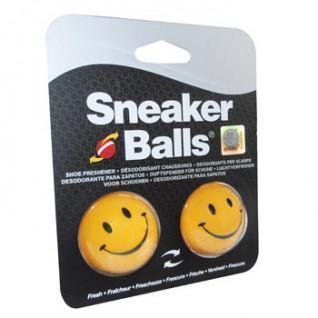 Packung mit 12 Happy Face Sneakerballs Deokugeln