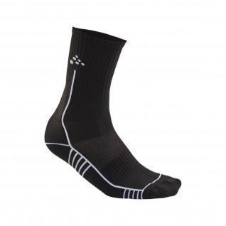 Handwerkliche Fortschritte bei halbhohen Socken