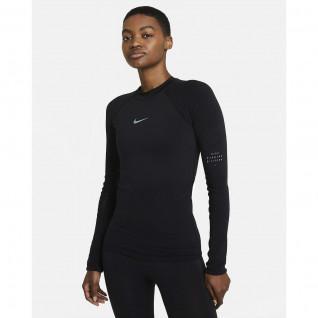 Nike Run Division Damen T-Shirt
