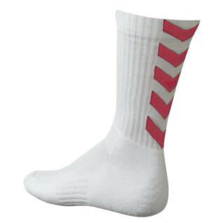 Hummel Authentic Indoor Socken - weiß/rosa