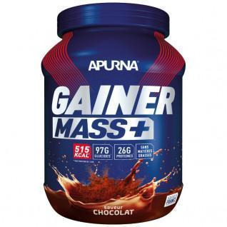 Topf Apurna Gainer Mass Plus - Schokolade - 1,1 kg