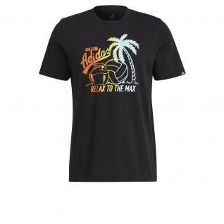 adidas Aeroready Vacation Grafisches T-Shirt
