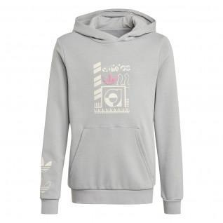 adidas Originals Grafikdruck Kinder-Kapuzenpulli