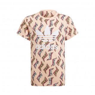 adidas Originals All-Over Print T-Shirt für Mädchen