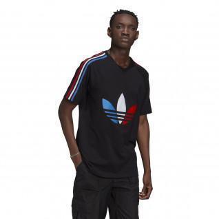 T-shirt Adidas-Logo zentriert