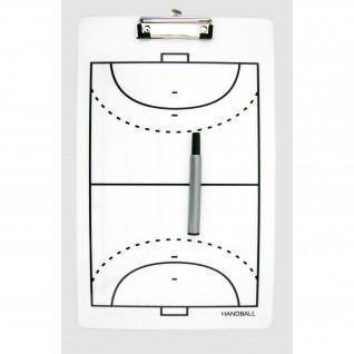 Doppelseitige taktische Tafel für Power Shot-Handball