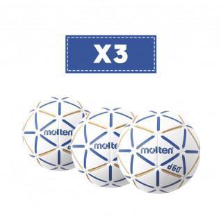 Satz mit 3 geschmolzenen D60-Ballons