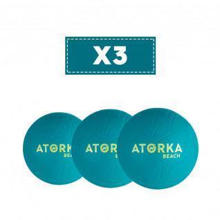 Satz von 3 Strandhandbällen Atorka HB500B