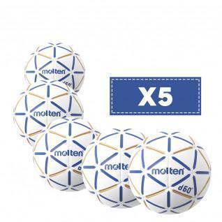 Packung mit 5 geschmolzenen D60-Ballons