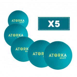 Satz mit 5 Strandhandbällen Atorka HB500B