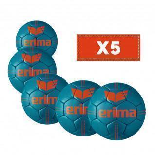 Packung mit 5 schweren Erima Pure Grip-Ballons