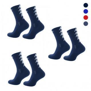 Satz mit 3 Paar Kappa Eleno Socken