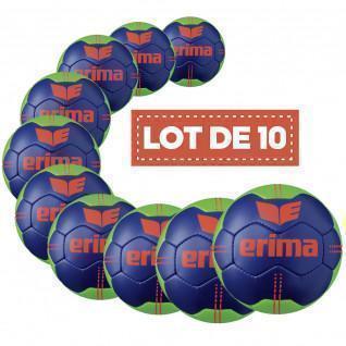Satz von 10 Erima Pure Grip-Ballons N° 3