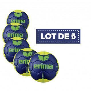 Satz von 5 Erima Pure Grip-Ballons Nr. 4