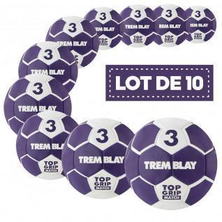 Stapel von 10 Tremblay-Top-Grid-Ballons der 2. Generation