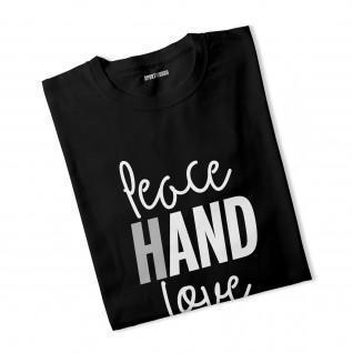 T-Shirt Frau Friedenshand Liebe