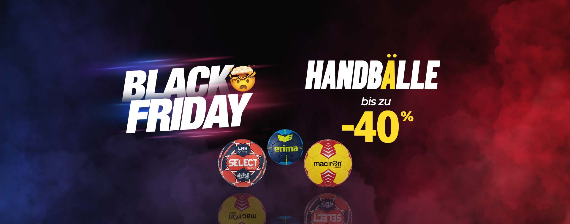 Black Friday Handbälle